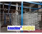 全自动铝型材静电喷涂生产线