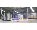 Semi-Automatic Powder Coating Line for Aluminum Profile